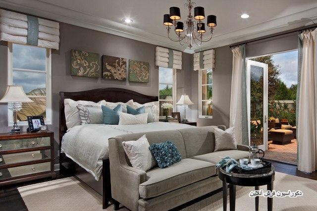 دکوراسیونی زیبا برای اتاقخواب