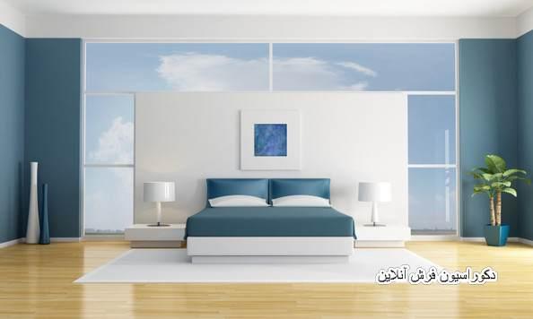 دکوراسیون و رنگ آمیزی اتاق خواب