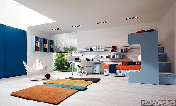 قالیچه هایی که رنگ را به خانه ی شما می آورند