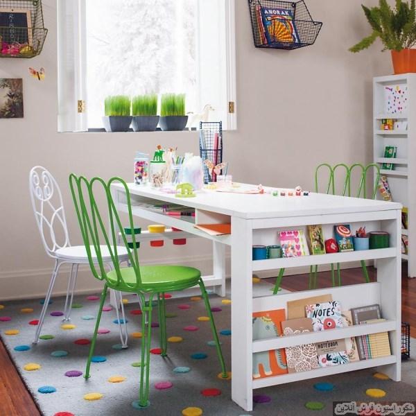 قالیچه های رنگی برای اتاق کودک