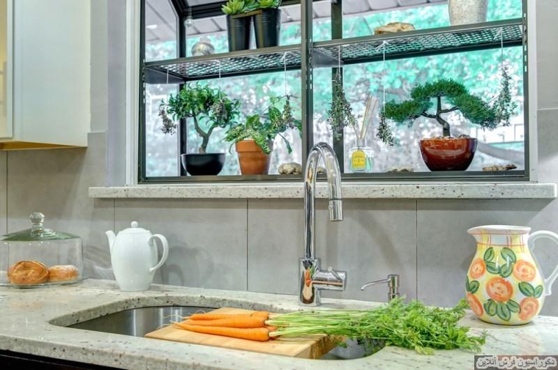 چطور پنجره ی باغچه دار طراحی کنیم