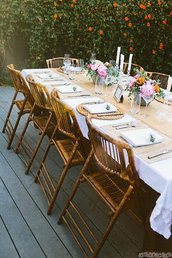 ۱۰ ایده ی خلاقانه برای میز های مهمانی
