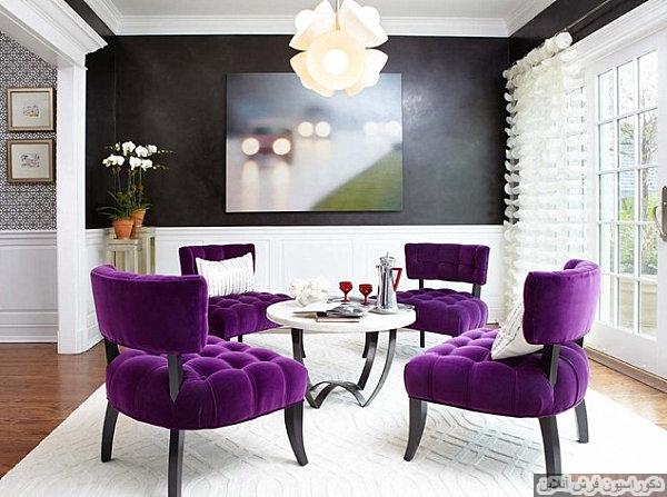 ترکیب رنگ های زنده برای خانه ای مدرن