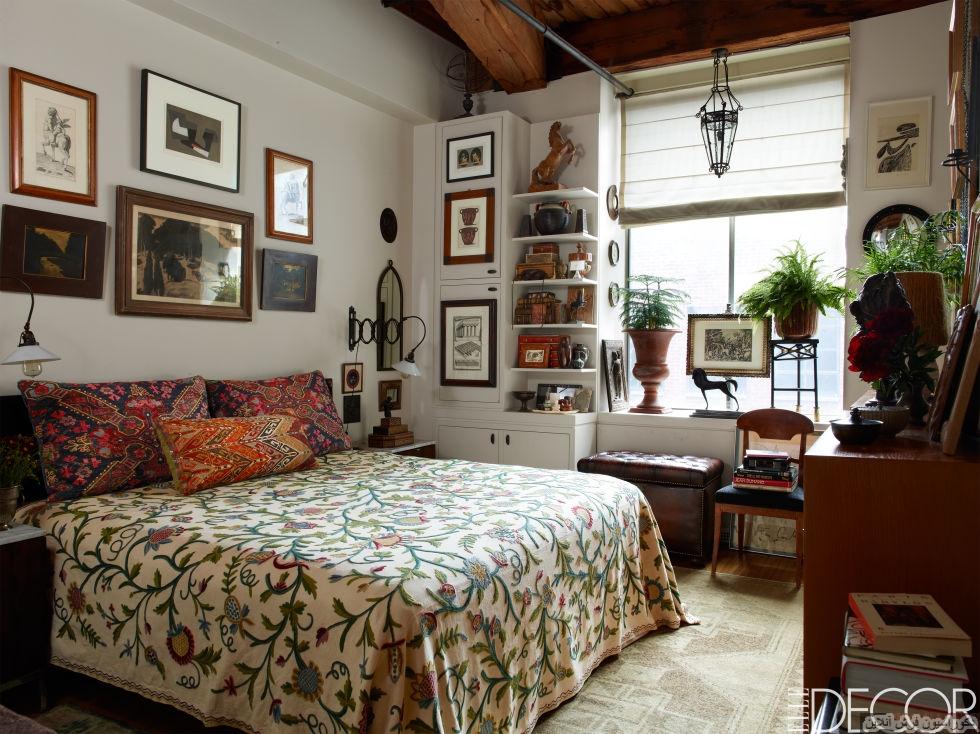 ایدههایی برای طراحی اتاق خواب در آپارتمانهای کوچک