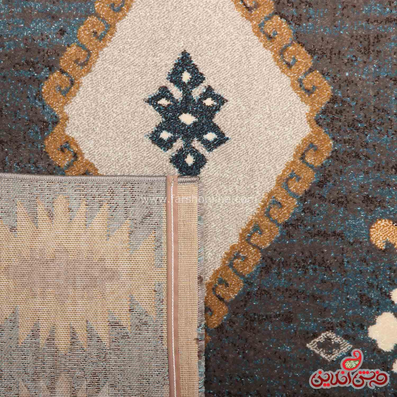 فرش ماشینی ساوین 4036 آبی
