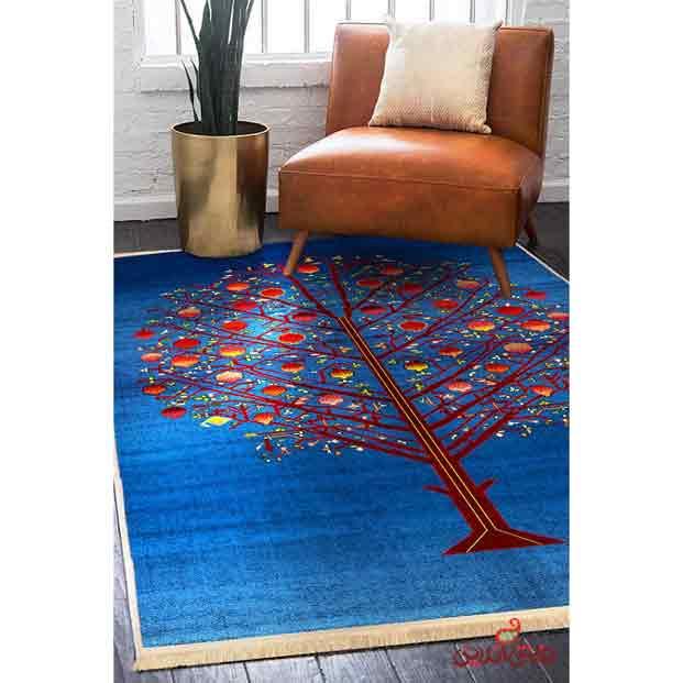 فرش ماشینی کلاریس کلکسیون گبه کد 100306