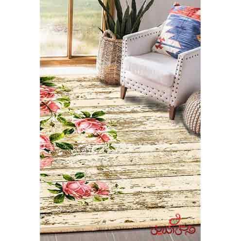 فرش ماشینی کلاریس کلکسیون مدرن کد  100437