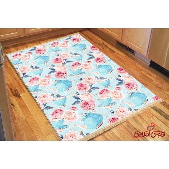 فرش ماشینی کلاریس کلکسیون مدرن کد  100435