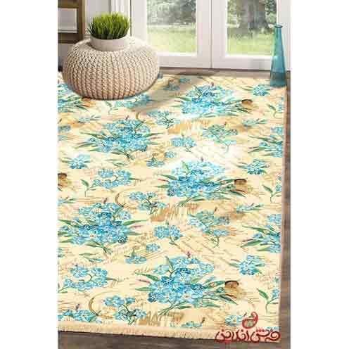 فرش ماشینی کلاریس کلکسیون مدرن کد  100434