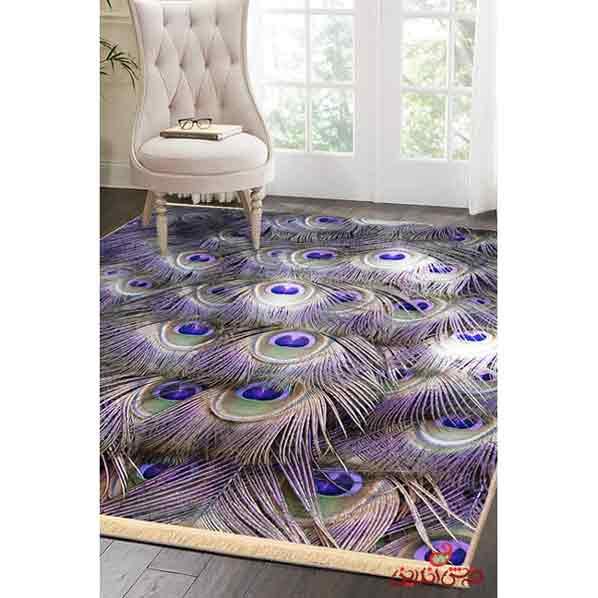 فرش ماشینی کلاریس کلکسیون مدرن کد  100419