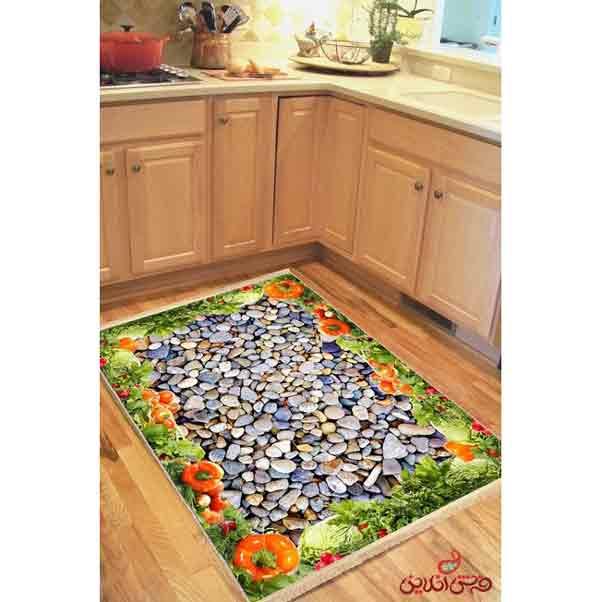 فرش ماشینی کلاریس کلکسیون مدرن کد 100401