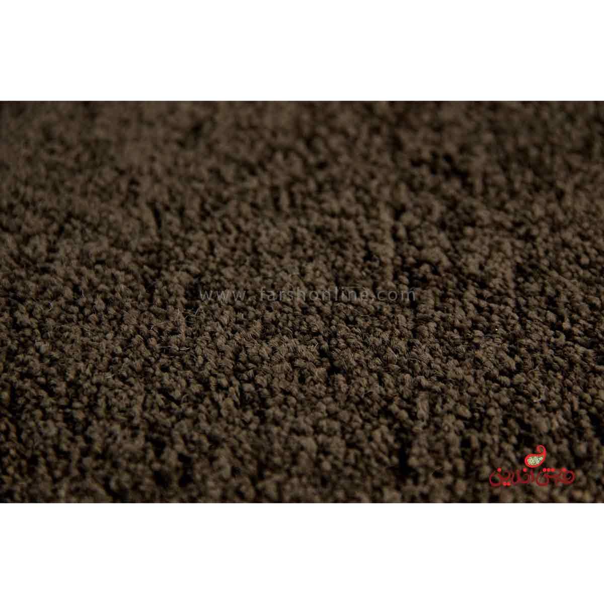 موکت ظریف مصور طرح هرمس قهوه ای کد 5531