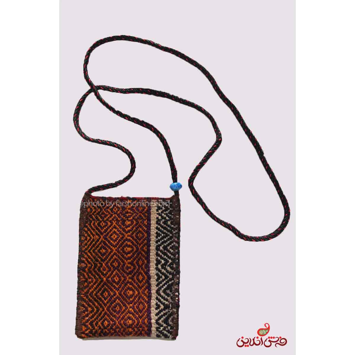کیف موبایل گلیم سوزنی دستباف کد 340