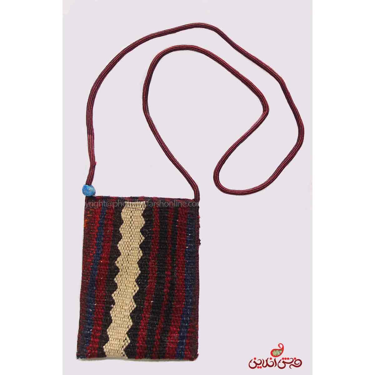 کیف موبایل گلیم سوزنی دستباف کد 342