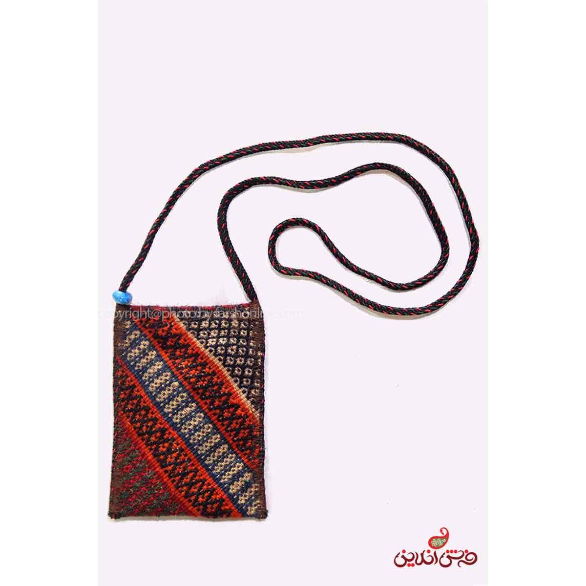 کیف موبایل گلیم سوزنی دستباف کد 345