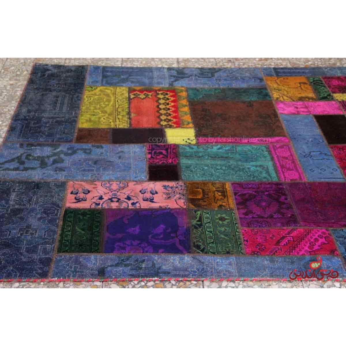فرش دستباف کلاژ کد 305