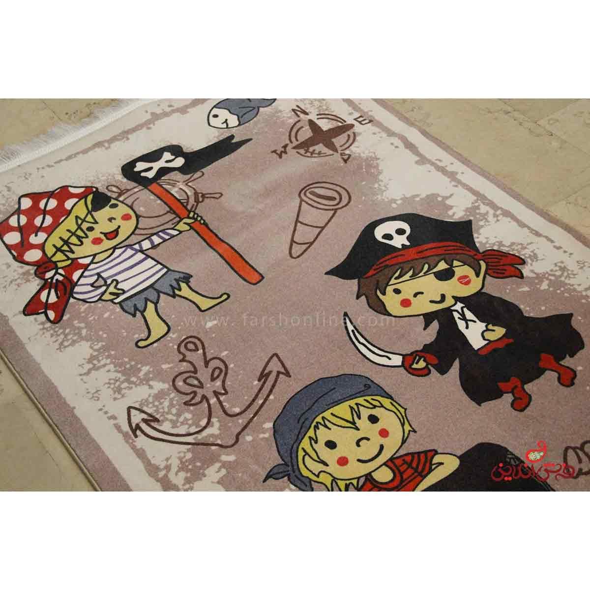 فرش ماشینی کودک کلاریس کد 713