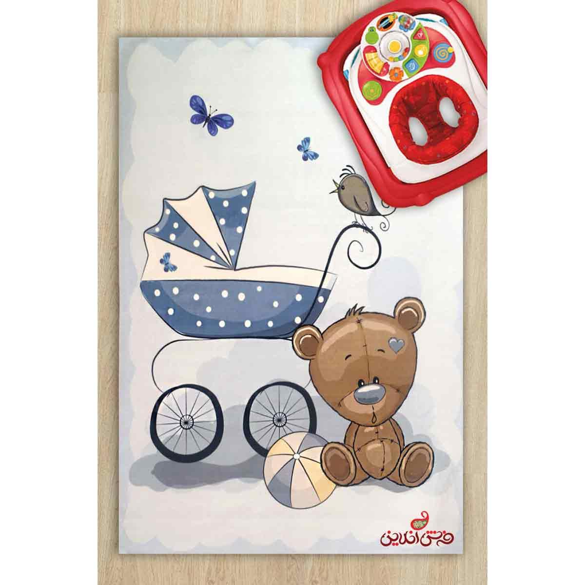 فرش ماشینی کودک کلاریس کد 705