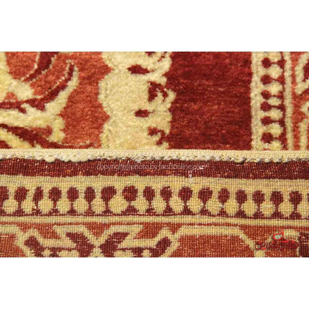 فرش دستباف کردستان لاکی کد 107802