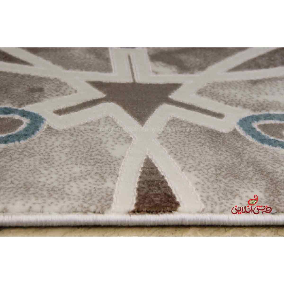 فرش ماشینی  ساوین کد 1509 آبی