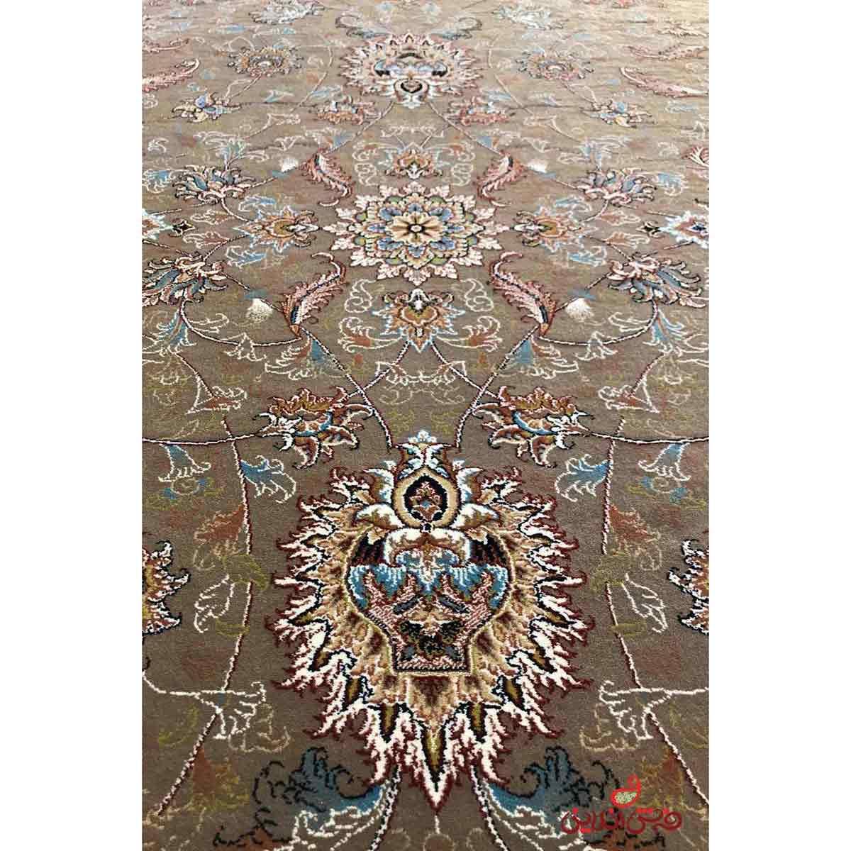 فرش ماشینی توس مشهد طرح افشان گردویی