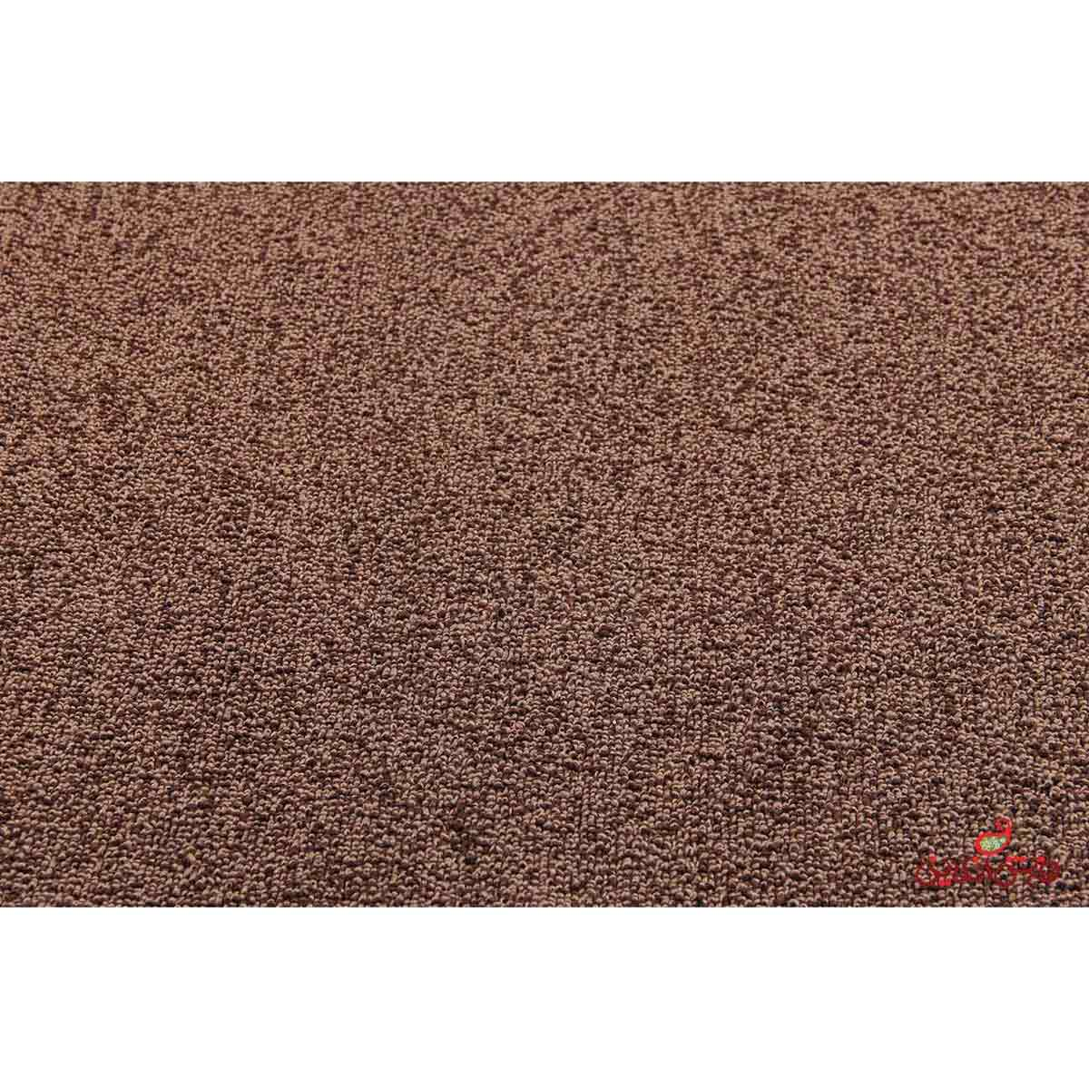 موکت ظریف مصور کد 7031 طرح رها قهوه ای