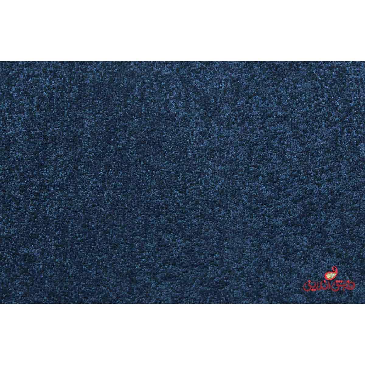 موکت ظریف مصور طرح رویال سرمه ای 5162