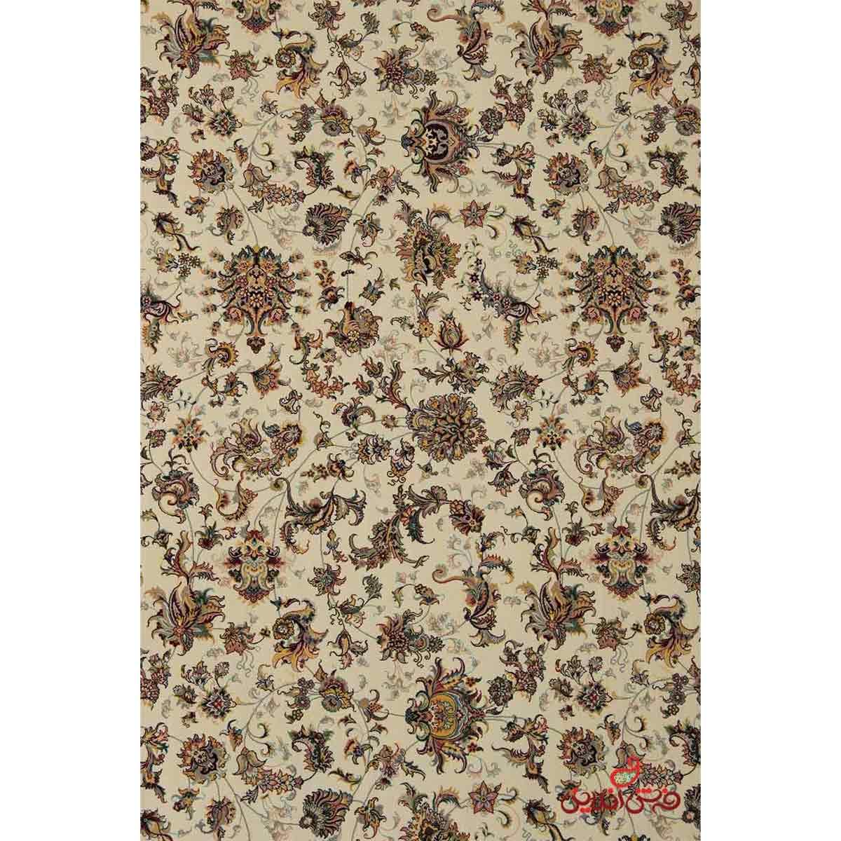 فرش پاتریس طرح پالیز کرم