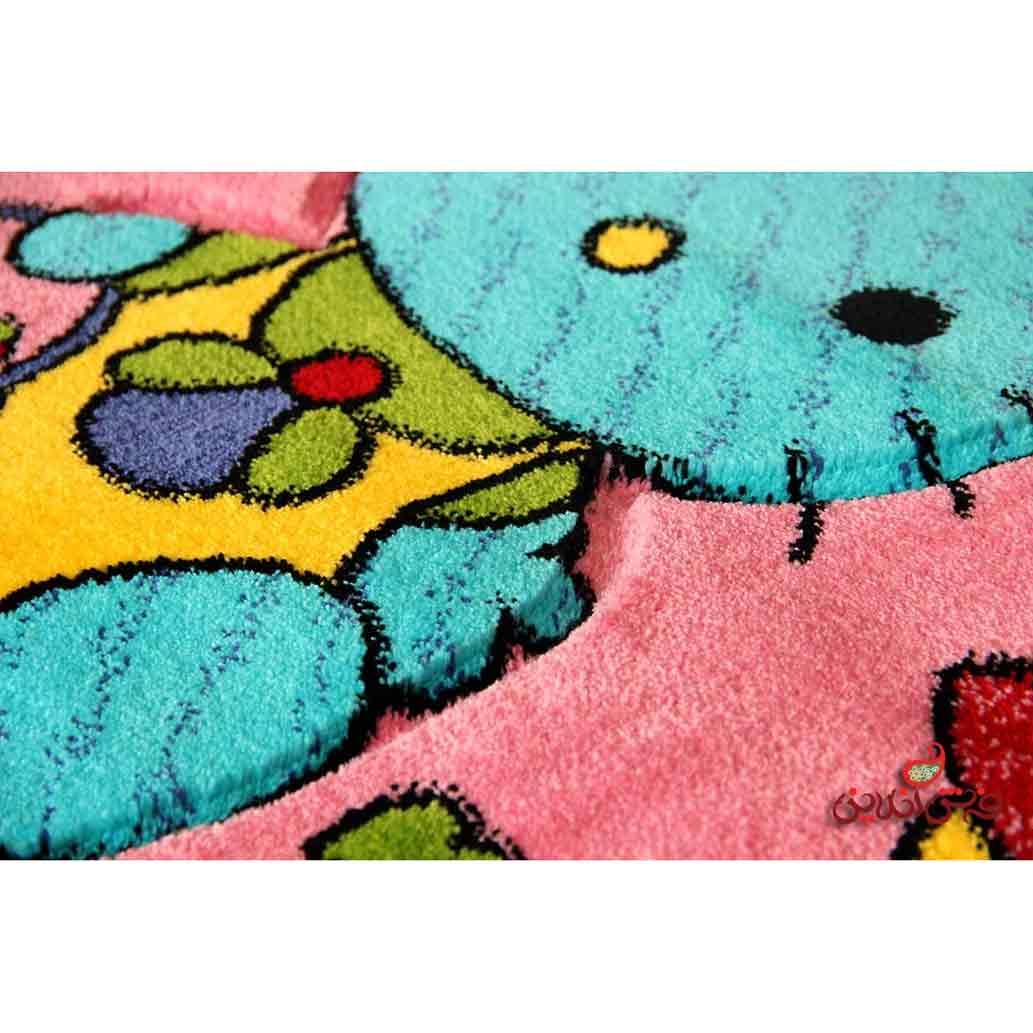 فرش کودک برلیان طرح کیتی نینی 2012