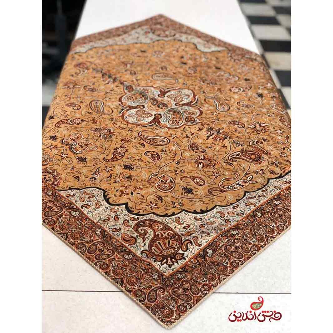 رومیزی مربع ترمه طرح شاه عباسی کد 805