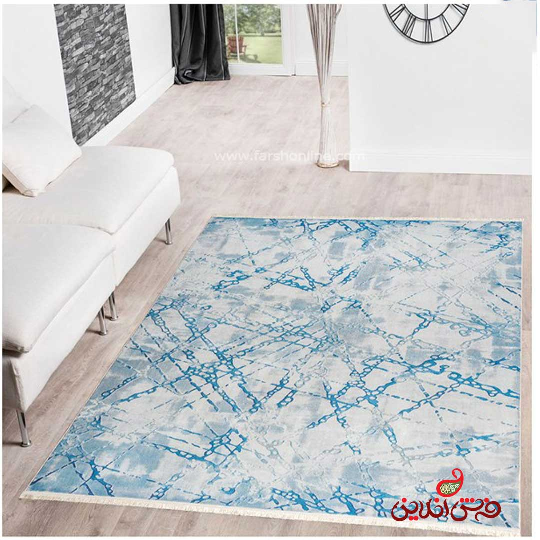 فرش ماشینی  کلاریس  کد 100375