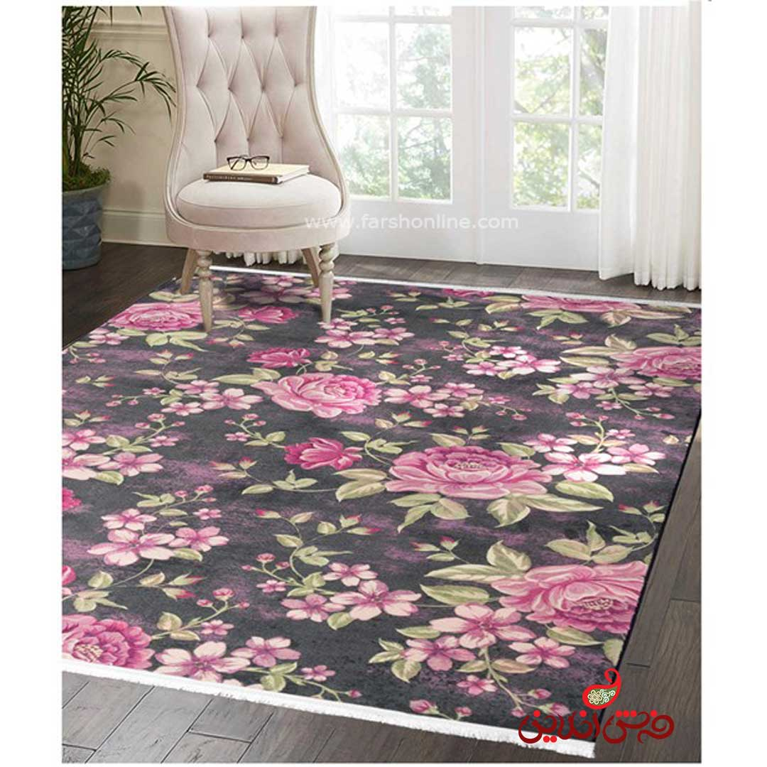 فرش ماشینی  کلاریس  کد 100387