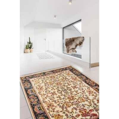 فرش ماشینی عرش طرح بهار کرم