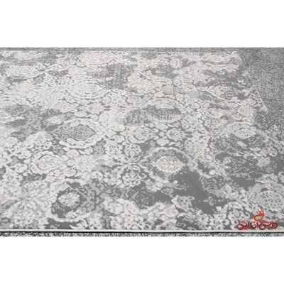 فرش ماشینی آرمانی کلکسیون حسنا کد 2010 طوسی