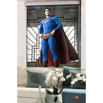 پرده شید تصویری کودک سوپرمن کد620