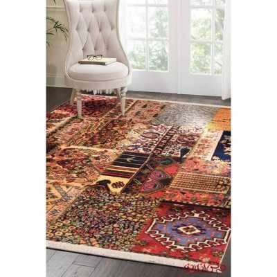 فرش ماشینی کلاریس کلکسیون چهل تیکه کد 100513