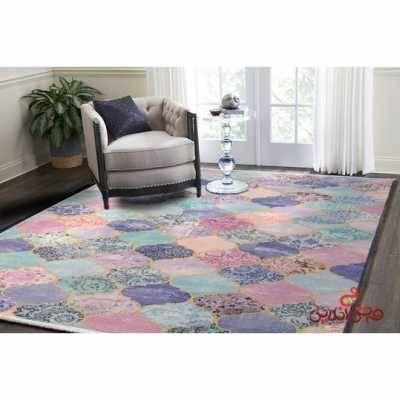 فرش ماشینی کلاریس کلکسیون چهل تیکه کد 100502