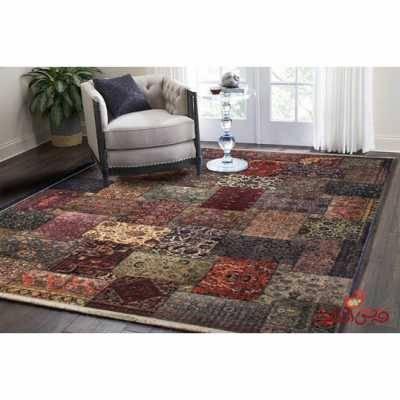 فرش ماشینی کلاریس کلکسیون چهل تیکه کد 100501
