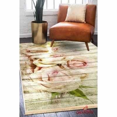فرش ماشینی کلاریس کلکسیون مدرن کد  100436