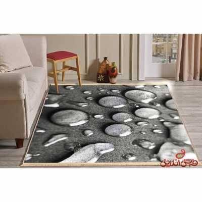 فرش ماشینی کلاریس کلکسیون مدرن کد  100430