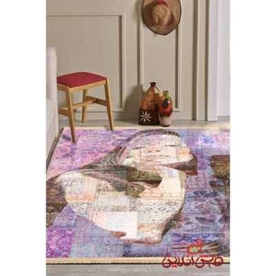 فرش ماشینی کلاریس کلکسیون مدرن کد  100412