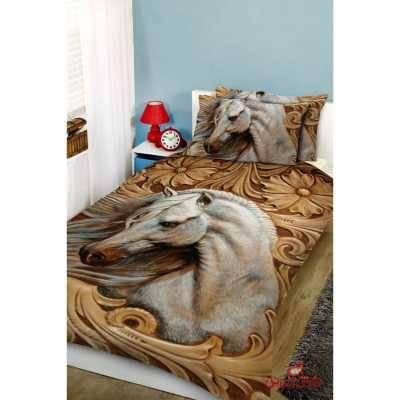 روتختی سه بعدی طرح اسب سفید کد 2429