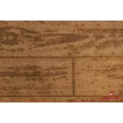 موکت ظریف مصورطرح پارکت توسکا شکلاتی