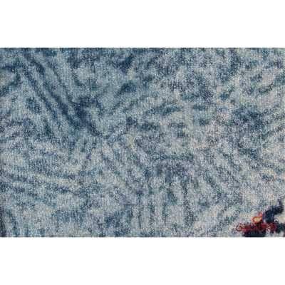 موکت ظریف مصور طرح ونیز آبی کد 5861