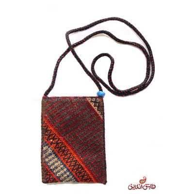 کیف موبایل گلیم سوزنی دستباف کد 344