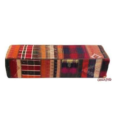 صندلی مکعب مستطیل دستباف کد 853