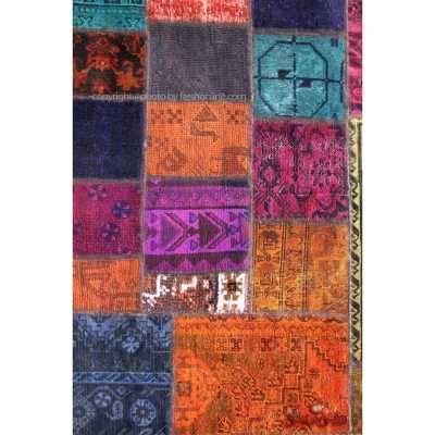 فرش دستباف کلاژ کد 882