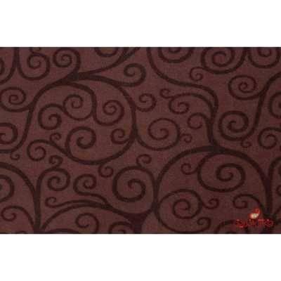 موکت ظریف مصور چاپی طرح درباری شکلاتی