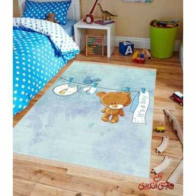 فرش ماشینی کودک کلاریس کد 100262
