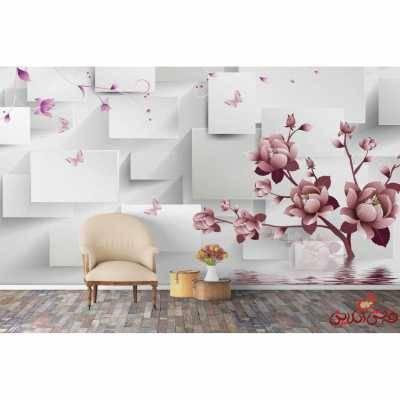 کاغذ دیواری سه بعدی کد 1607